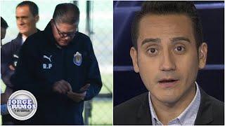 'Ricardo Peláez no termina de aprender. Le pasó con Cruz Azul': Del Valle | Jorge Ramos y Su Banda