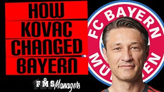 How Niko Kovac Changed Bayern Munich | Bayern Munich Review 2018/19 | Kovac Tactics |