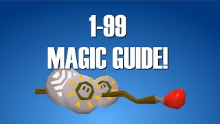 OSRS: Get Level 1-99 Magic AFK 2016 (Ultimate Splashing Guide)