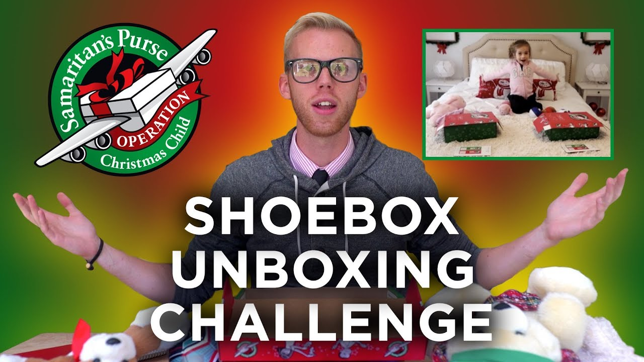 Operation Christmas Child 2019 Flyer.Shoebox Unboxing Challenge Operation Christmas Child