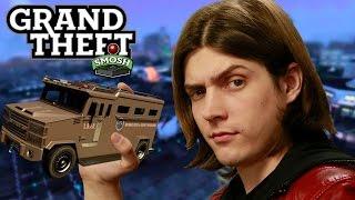 FIRST HEIST IN GTA ONLINE (Grand Theft Smosh)