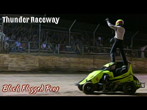 Mini Sprint Main At Thunder Raceway July 16th 2016