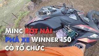 Winner 150 RỚT NÀI - Lạc trôi vào CÂY CÔ ĐƠN Đà Lạt | MinC Motovlog