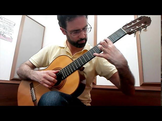 Intermediate Classical Guitar: Tarrega's Etude in E minor