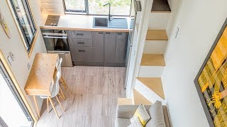 Tiny House 26 m2 (12-Ft Ceiling Height) Design Ideas