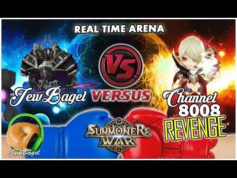 SUMMONERS WAR : JewBagel -VS- Channel 8008 (The Revenge!)