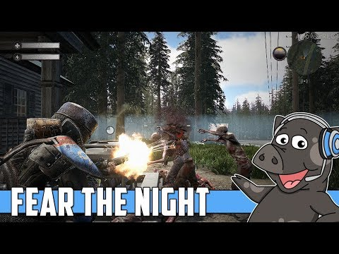 First 30 Minutes Of Gameplay - Fear The Night - Zombie Survival - Early Access