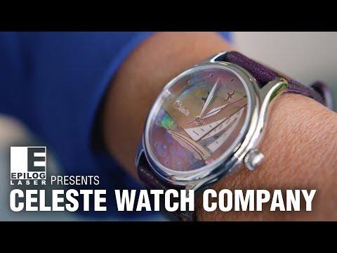 Epilog Laser Presents: Celeste Watch Company