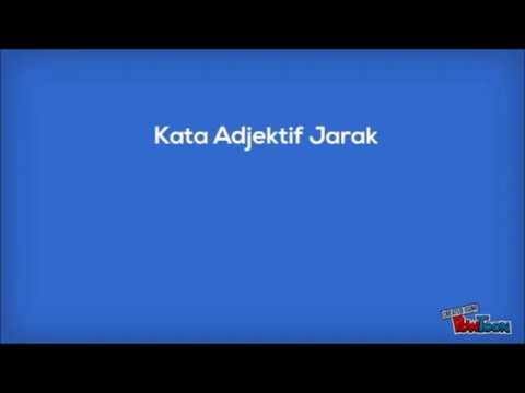 Kata Adjektif Jarak Youtube