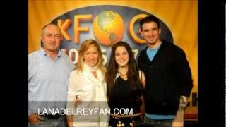 Lana Del Rey - Performances & Interview for KFOG Radio in San Francisco 07112012