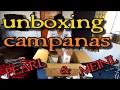 Unboxing y prueba de campanas MEINL y PEARL