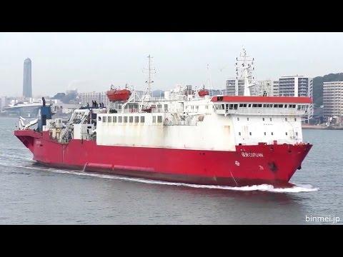 福安 CS FU AN - SBSS cable layer ship - 2017