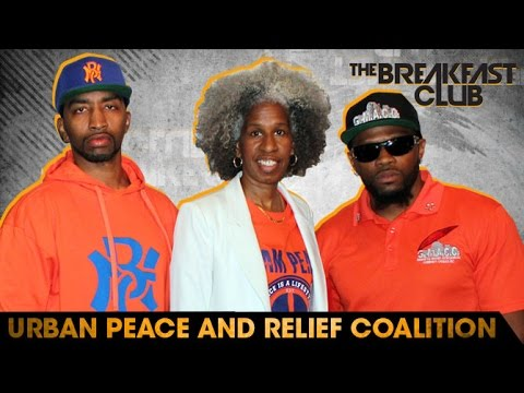 Urban Peace and Relief Coalition Interview at The Breakfast Club Power 105.1 (06/02/2016)