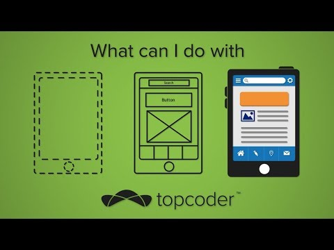 What Can I Do with Topcoder