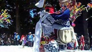 佐伯市宇目中津留で開催される椿原祭典です。獅子舞や杖踊りや中津留楽...