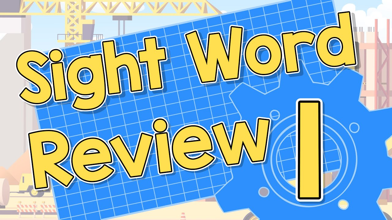 Download Sight Word Review | List 1and 2 | Jack Hartmann
