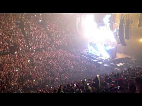 Swedish House Mafia live at the Bell Center - Montréal - 27th February 2013