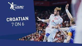 Croatian powerplay gamble paid off against Iceland | Men's EHF EURO 2018