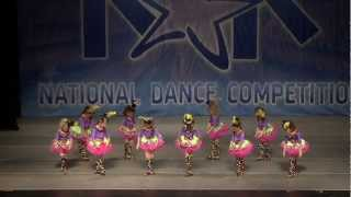 "KAR COMPETITION--Amazing 7 years old tap dance ""Tea Party"""