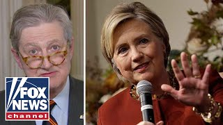 Sen. John Kennedy hits back at Hillary Clinton's Russia accusations
