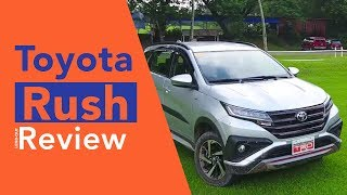 2018 Toyota Rush 1.5 G Car Review