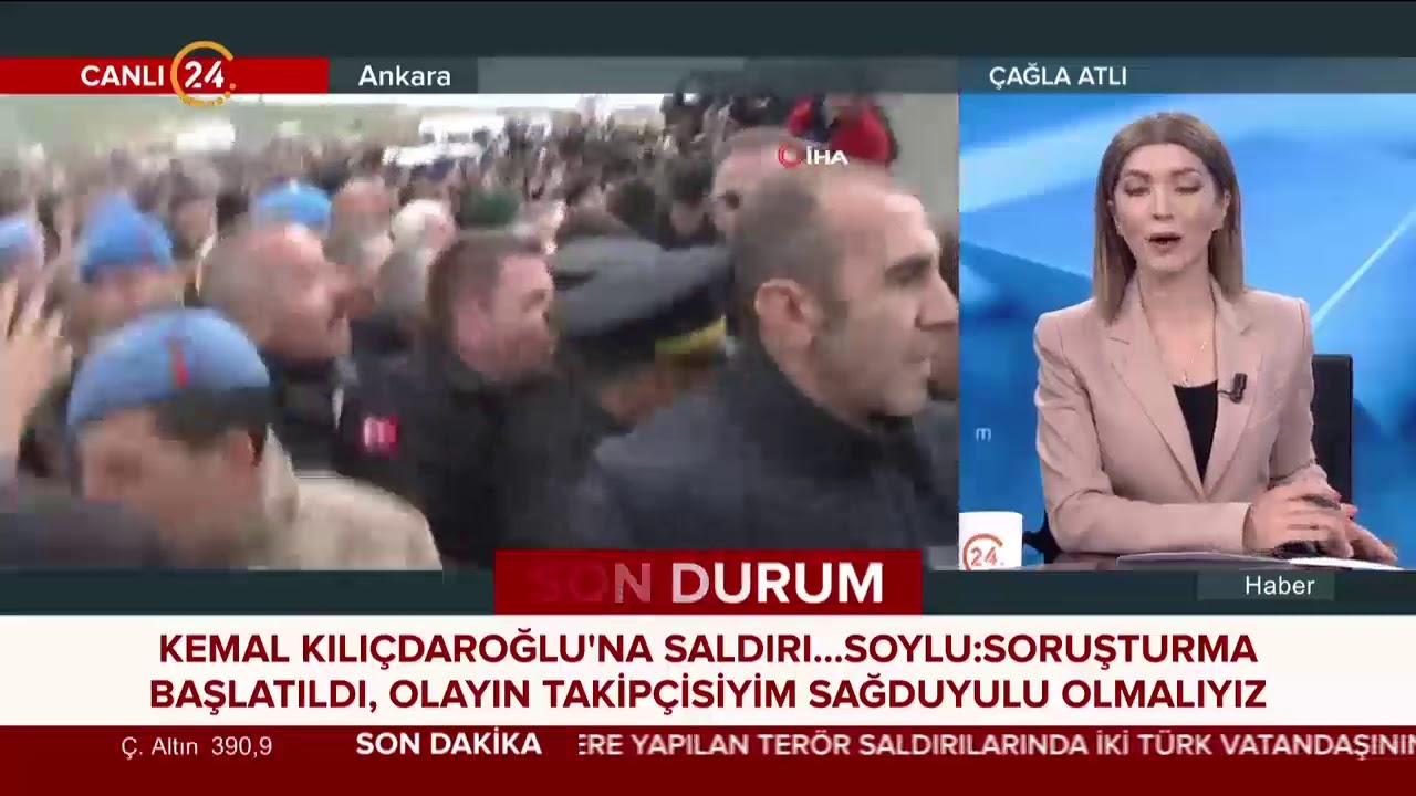 Kılıçdaroğlu'na saldırı... İçişleri Bakanı Soylu: Saldırı kabul edilemez