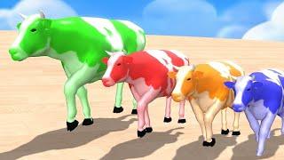 색칠 게임 거대한 애완 동물 | 자녀 교육 #19