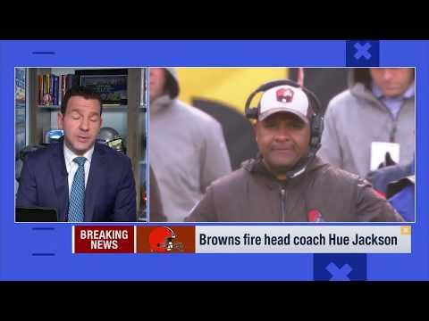 Cleveland Browns fire head coach Hue Jackson