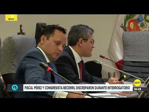 Video | Héctor Becerril y fiscal José Pérez discutieron durante interrogatorio