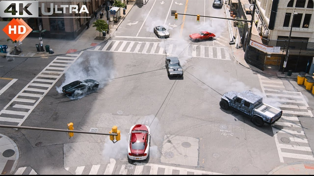 Download Fast & Furious 8 (हिन्दी) - Best Moments | Best Racing & Action Scenes |