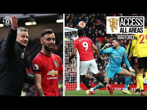Bruno's First Goal! | Access All Areas | United 3-0 Watford