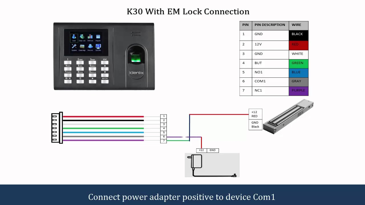 K30 Connection Diagram Youtube