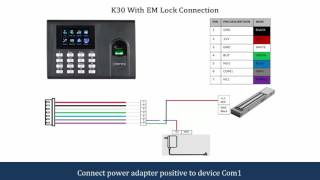 K30 Connection Diagram