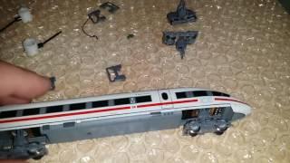 Spur N Modellbahn Anlage Piko ICE 3 Arnold muss restauriert werden