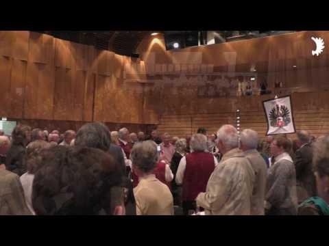 Eröffnung des Jahrestreffens der Ostpreußen 2017 mit Einzug der Fahnenstaffel