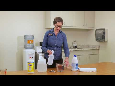 Do It Yourself Bleach Sanitizer Solution