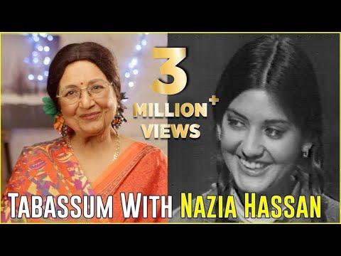 Nazia Hassan   Rare Full Interview   Aap Jaisa Koi   Tabassum Talkies