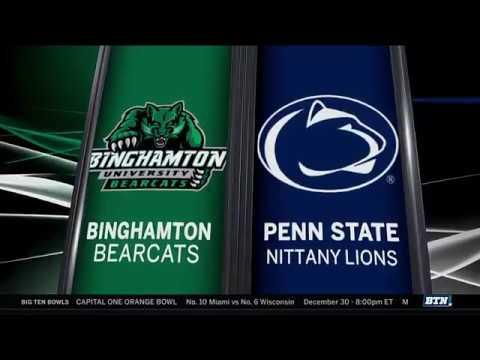 Binghamton at Penn State - Men
