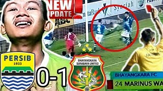 Video PERSIB vs BHAYANGKARA FC 0-1   31/5/18   Kartu Merah download MP3, 3GP, MP4, WEBM, AVI, FLV Agustus 2018