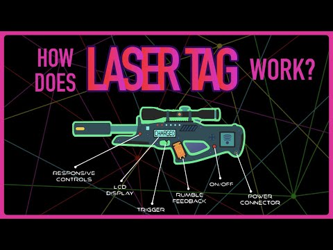 How Do Laser Tag Guns Work?