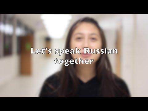 American Teenagers Speak Russian
