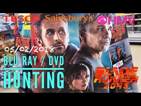 BLU-RAY / DVD HUNTING with Big Pauly (05/02/18) - Blade Runner 2049