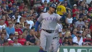 July 05, 2016-Texas Rangers vs. Boston Red Sox