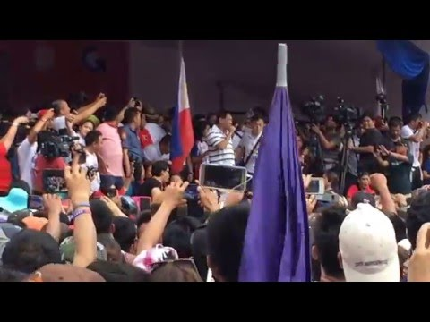 Duterte FULL SPEECH - Grand Rally in Pagadian City, Zamboanga del Sur May 2, 2016