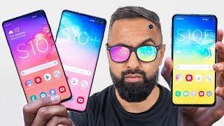 Samsung Galaxy S10 vs S10 Plus vs S10E Video