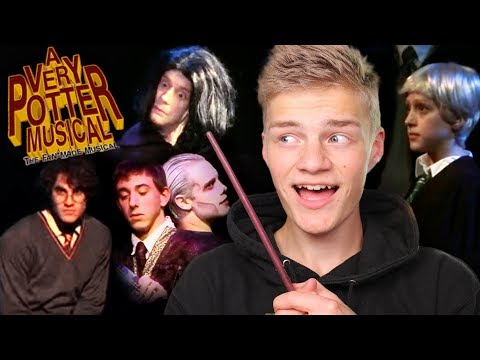 Potterhead Reacts to A Very Potter Musical!