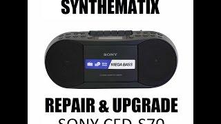 SONY CFD-S70 CD Radio Cassette Repairs