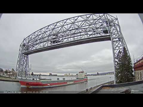 Eemsborg departed Duluth 10/29/2018