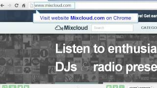 How to download Mixcloud music online on Chrome