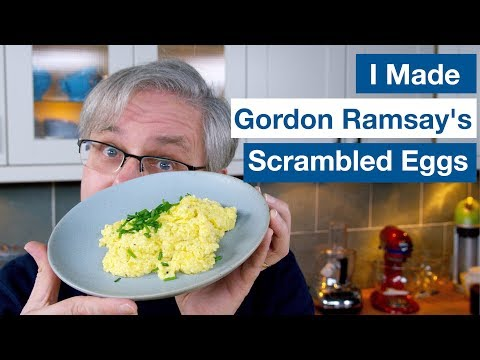 🔵 I Made Gordon Ramsay's Scrambled Eggs